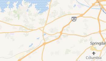 Lexington, South Carolina map