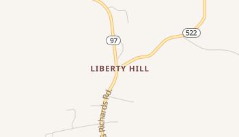 Liberty Hill, South Carolina map