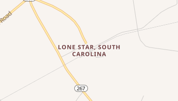 Lone Star, South Carolina map