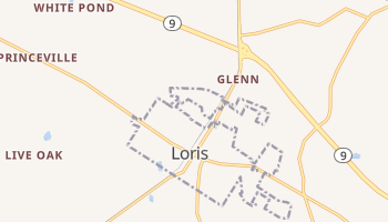 Loris, South Carolina map
