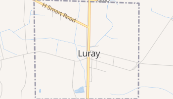Luray, South Carolina map