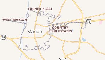 Marion, South Carolina map