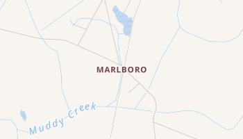 Marlboro, South Carolina map