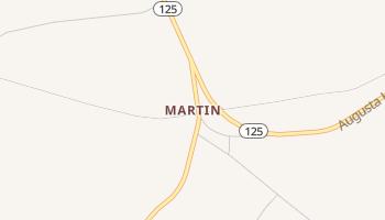 Martin, South Carolina map