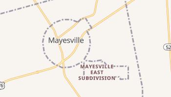 Mayesville, South Carolina map