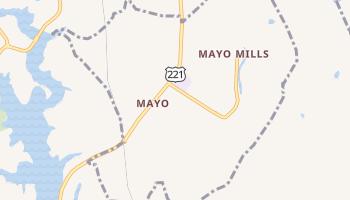 Mayo, South Carolina map