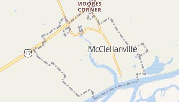 McClellanville, South Carolina map