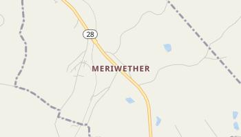Meriwether, South Carolina map