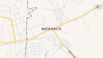 Monarch, South Carolina map