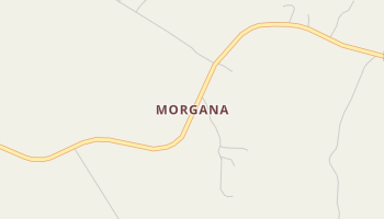 Morgana, South Carolina map