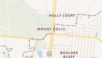 Mount Holly, South Carolina map