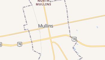 Mullins, South Carolina map
