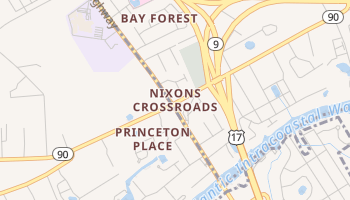 Nixons Crossroads, South Carolina map
