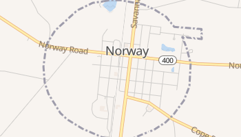 Norway, South Carolina map