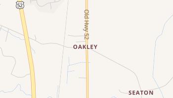 Oakley, South Carolina map