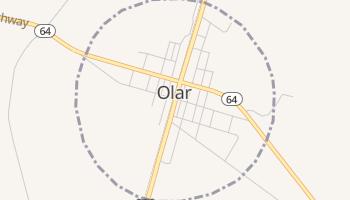 Olar, South Carolina map