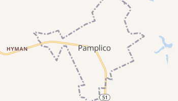 Pamplico, South Carolina map