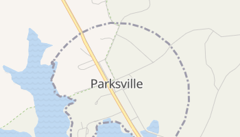 Parksville, South Carolina map