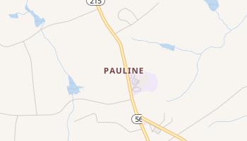 Pauline, South Carolina map
