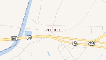 Pee Dee, South Carolina map