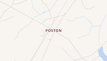 Poston, South Carolina map