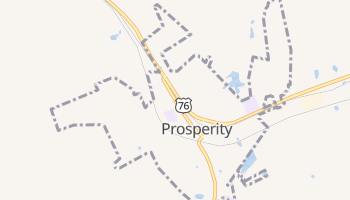 Prosperity, South Carolina map