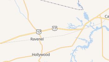 Ravenel, South Carolina map