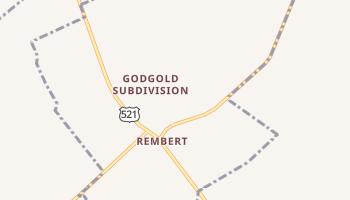 Rembert, South Carolina map