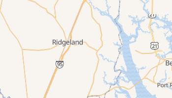 Ridgeland, South Carolina map