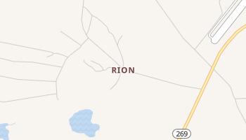Rion, South Carolina map