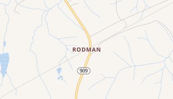 Rodman, South Carolina map