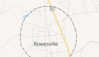 Rowesville, South Carolina map