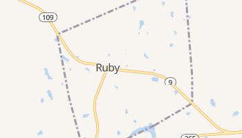 Ruby, South Carolina map
