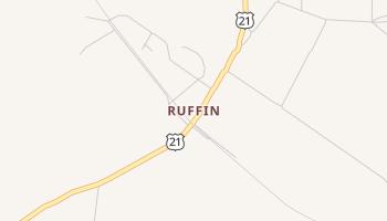 Ruffin, South Carolina map