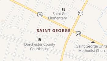Saint George, South Carolina map