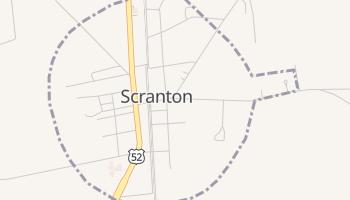Scranton, South Carolina map
