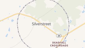 Silverstreet, South Carolina map