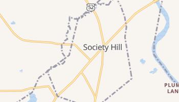 Society Hill, South Carolina map