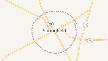 Springfield, South Carolina map