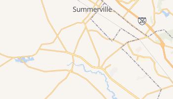 Summerville, South Carolina map