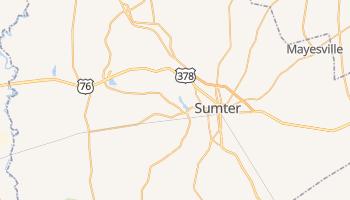 Sumter, South Carolina map