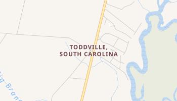 Toddville, South Carolina map