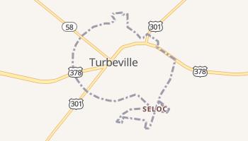 Turbeville, South Carolina map