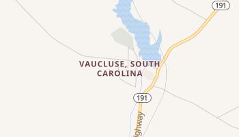 Vaucluse, South Carolina map