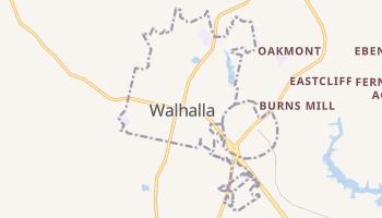 Walhalla, South Carolina map
