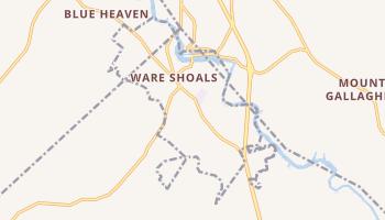 Ware Shoals, South Carolina map