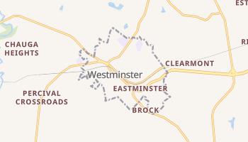 Westminster, South Carolina map
