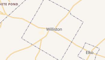 Williston, South Carolina map
