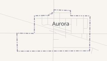 Aurora, South Dakota map
