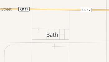 Bath, South Dakota map